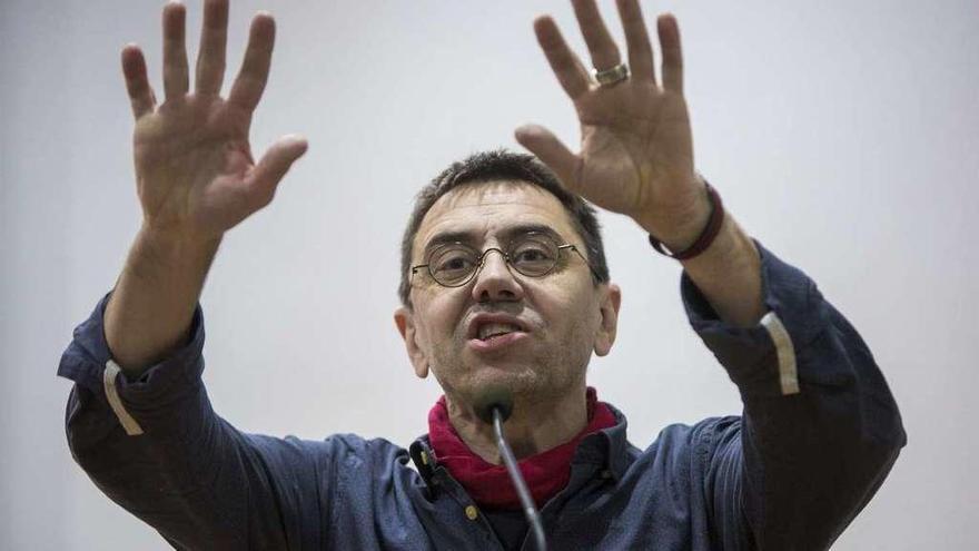 Monedero reta a Errejón a disputarle el liderazgo a Iglesias si tiene otro proyecto
