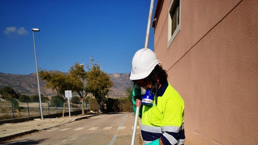 Lorca realiza casi 90 controles de covid en las aguas residuales