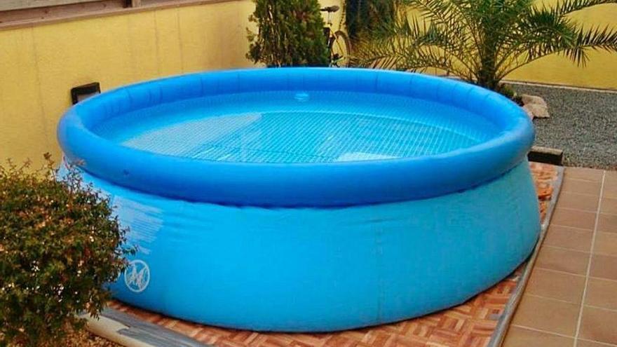 Treinta familias recaban las ayudas para piscinas portátiles en Sellent