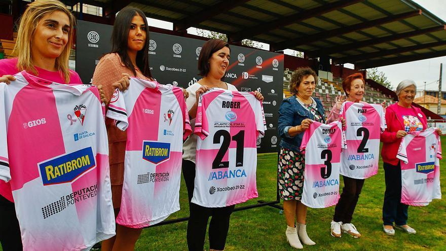 El Arosa se viste de rosa en favor de la lucha contra el cáncer de mama
