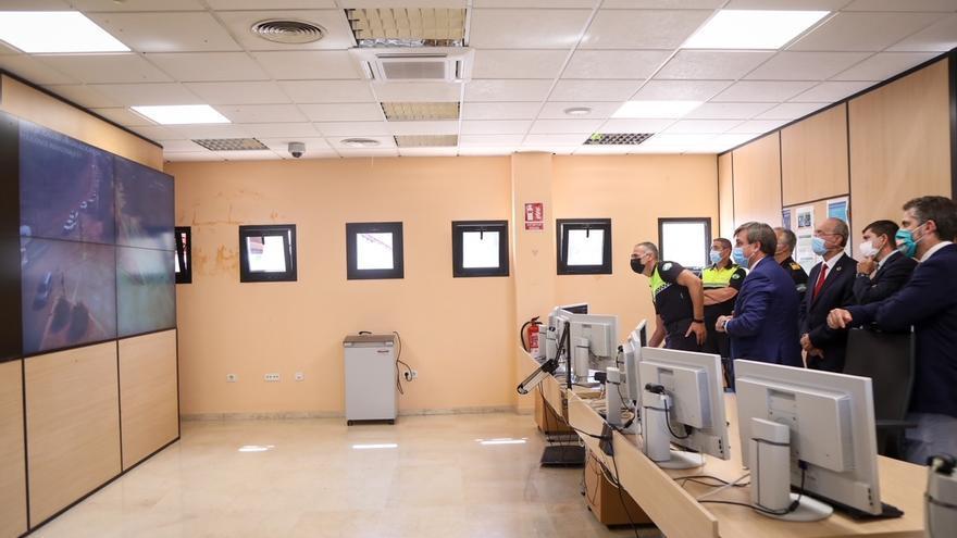 Los polígonos Santa Bárbara, Azucarera y Guadalhorce ya disponen de sistema de videovigilancia