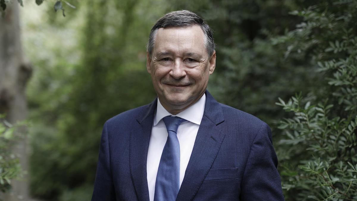 Ángel Simón, vicepresident executiu de SUEZ i president d'Agbar.