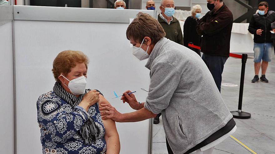 El Sergas prevé que el 29% de la población diana de Galicia esté vacunada esta semana