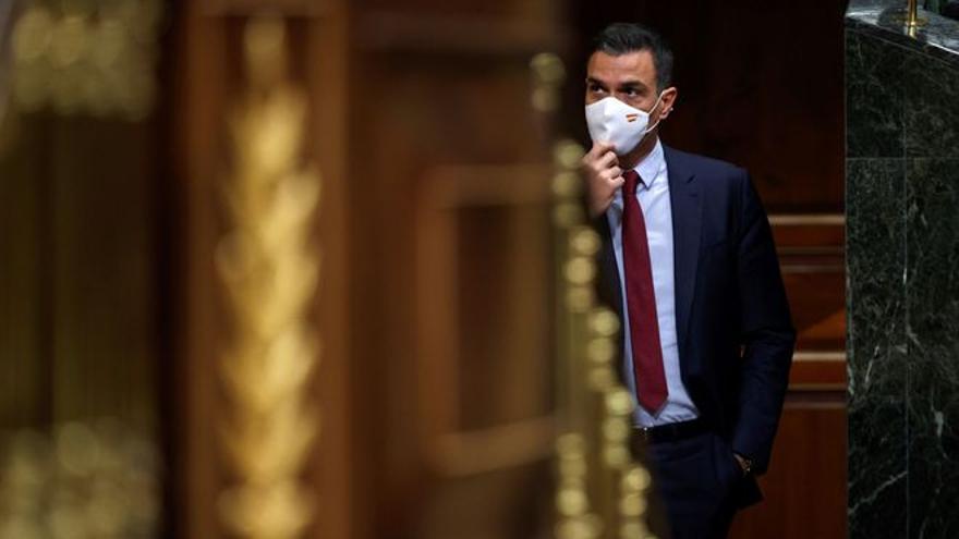 Sánchez solemniza su 'no' al referéndum y Rufián presagia que acabará cediendo
