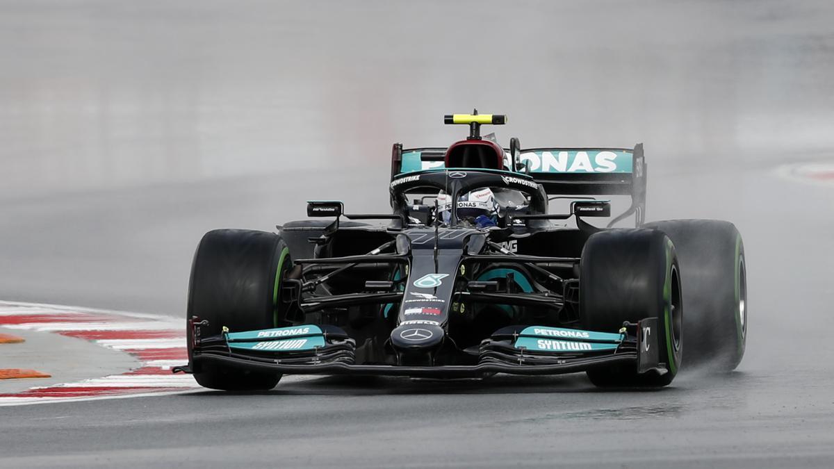 Valtteri Bottas, en el circuito de Istanbul Park.