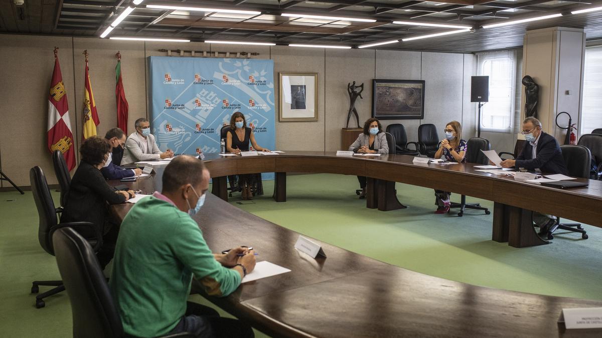 Reunión del Centro de Coordinación COVID