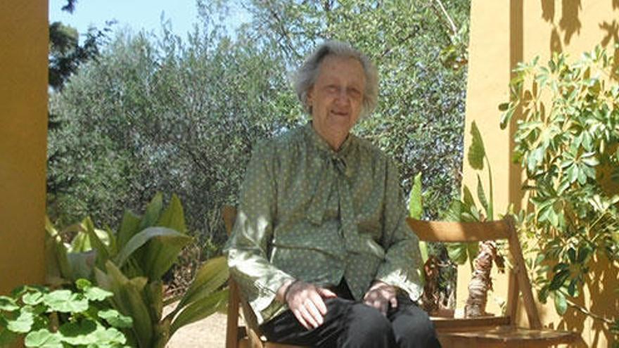Fallece la filóloga Aina Moll Marqués, hija de Francesc de Borja Moll