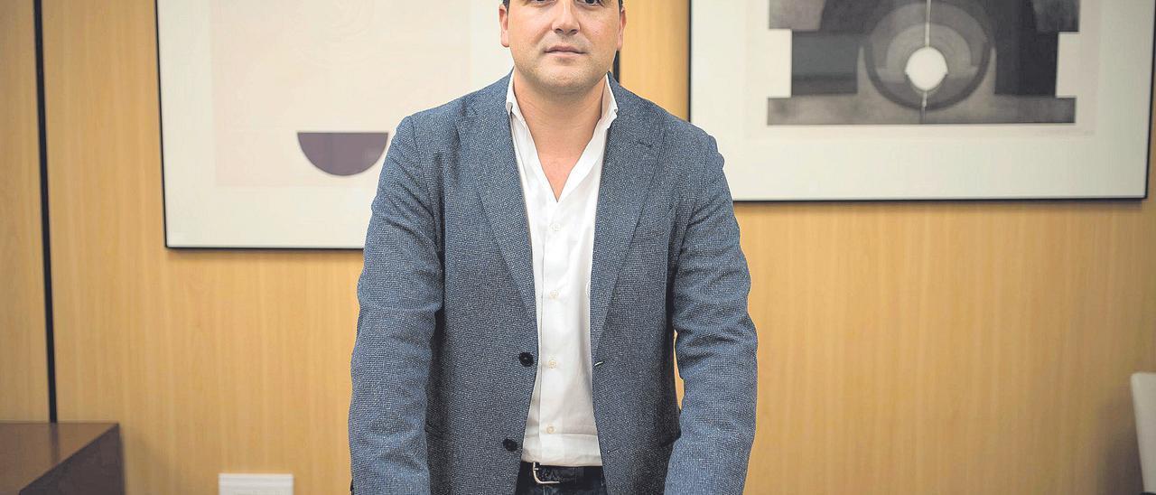 El consejero delegado de Visocan, Agustín Fernández.