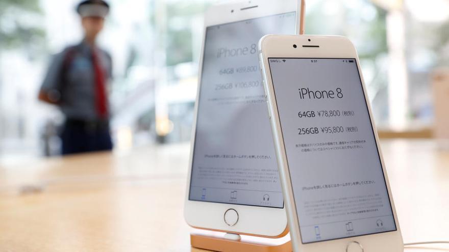Los nuevos iPhone 8 y 8 Plus llegan a España