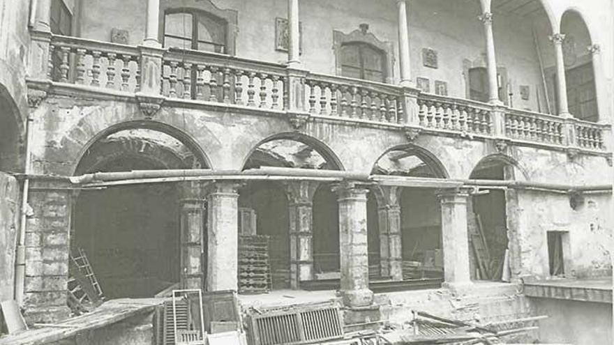 Primera piedra del Museu de Mallorca