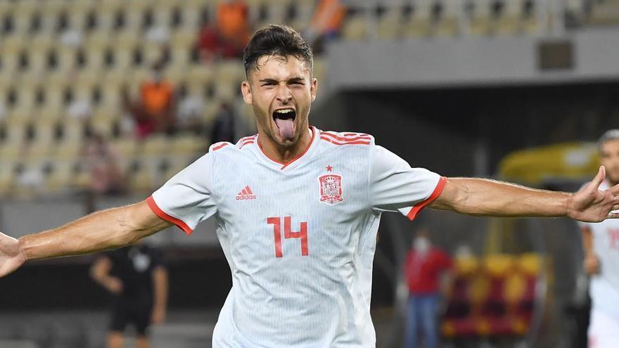 España sub 21 gana a Macedonia y roza el Europeo