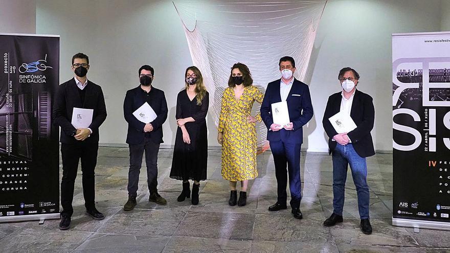 El festival RESIS estrena de abril a junio más de 30 obras de creación contemporánea