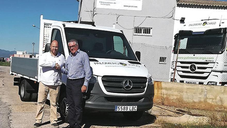 Palomero Cargo amplía su flota con Mercedes-Benz