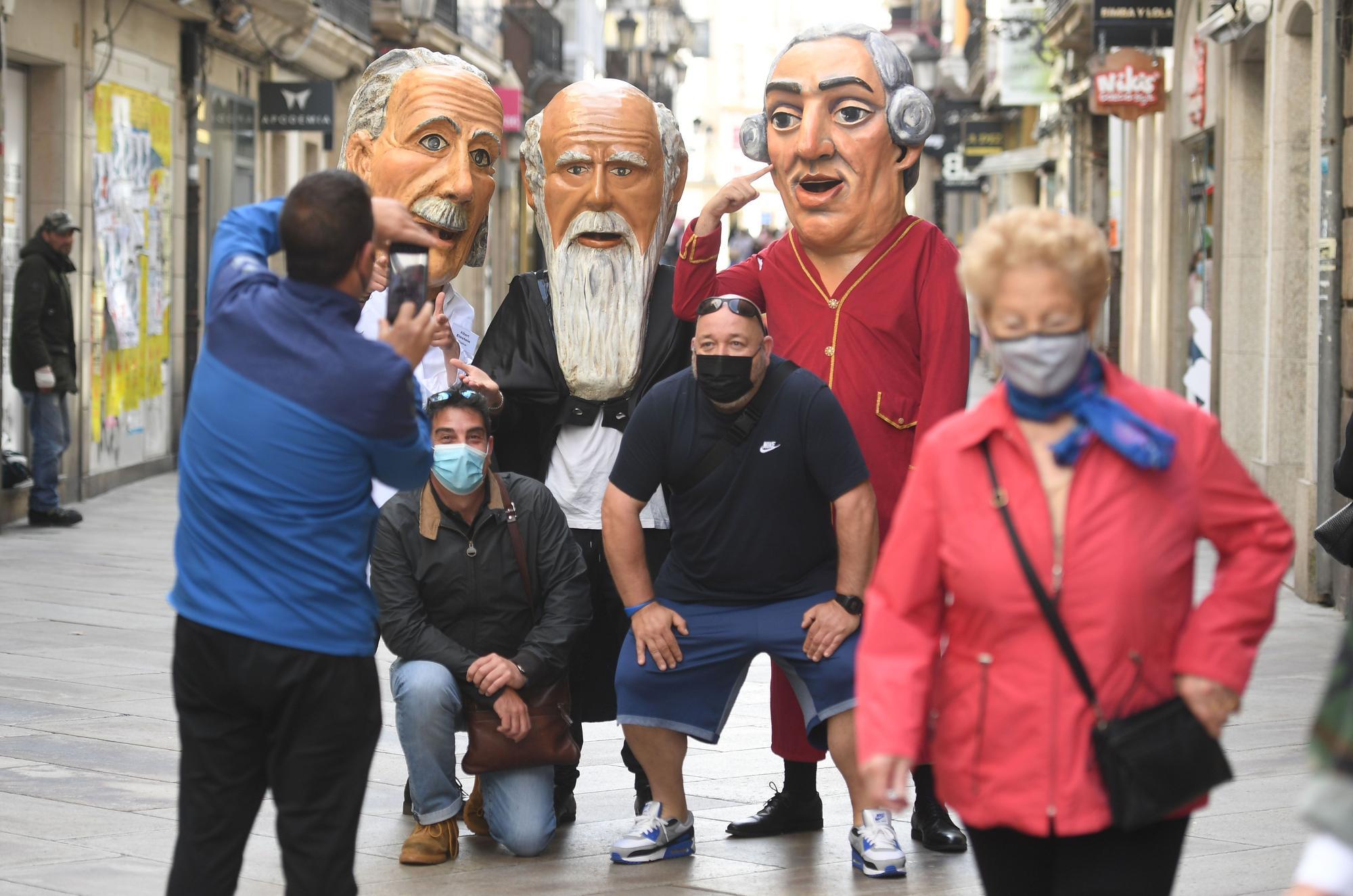 Día de la Ciencia en la calle en A Coruña