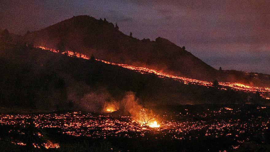 Los topónimos brotan con la lava del volcán de La Palma