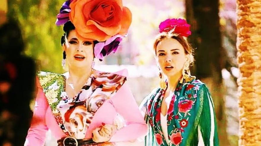 Una flamenca conocida por Chenoa