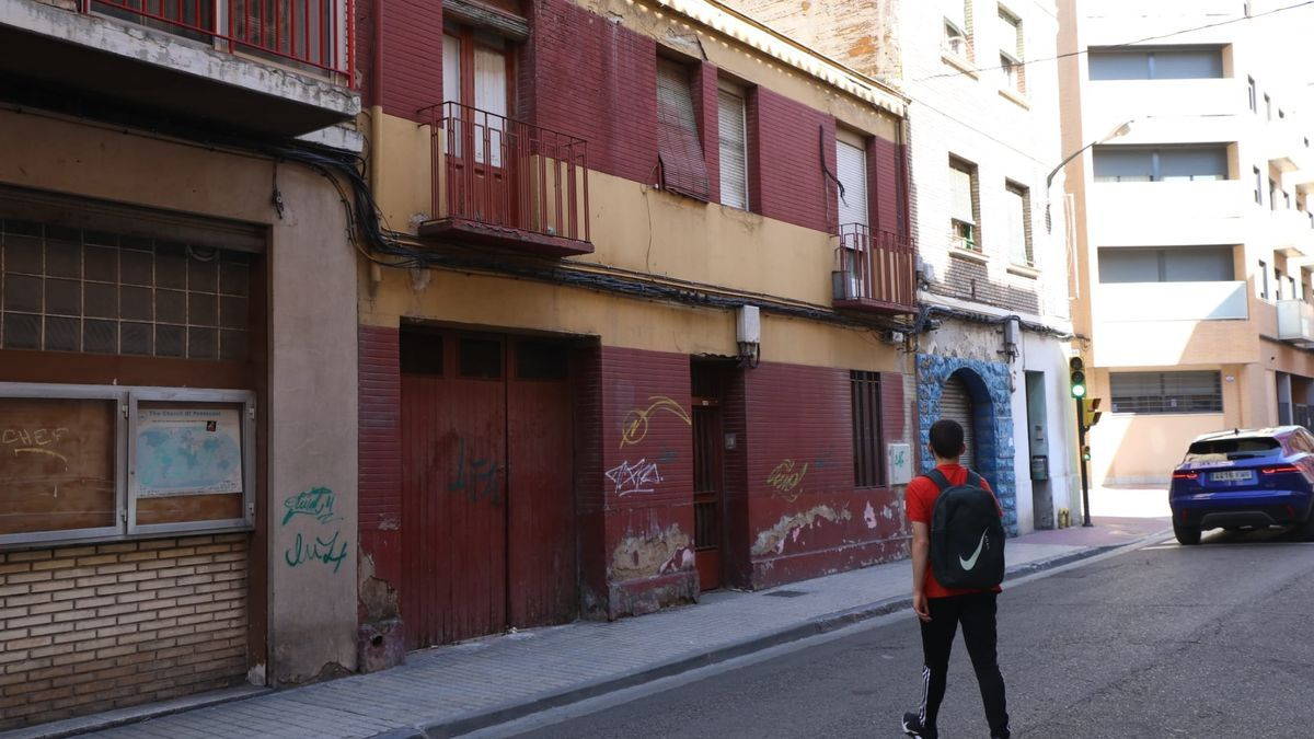 Edificio de la calle Torre Quevedo en el que se produjo el arresto.