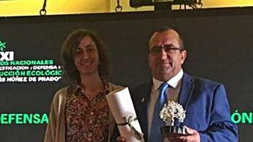 La Diputación, premiada por su defensa de la producción ecológica