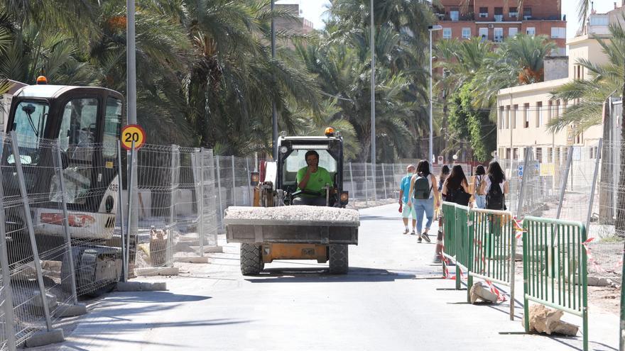 Autorizan un sobrecoste de 32.000 euros en la reforma de la calle Nuestra Señora de la Cabeza