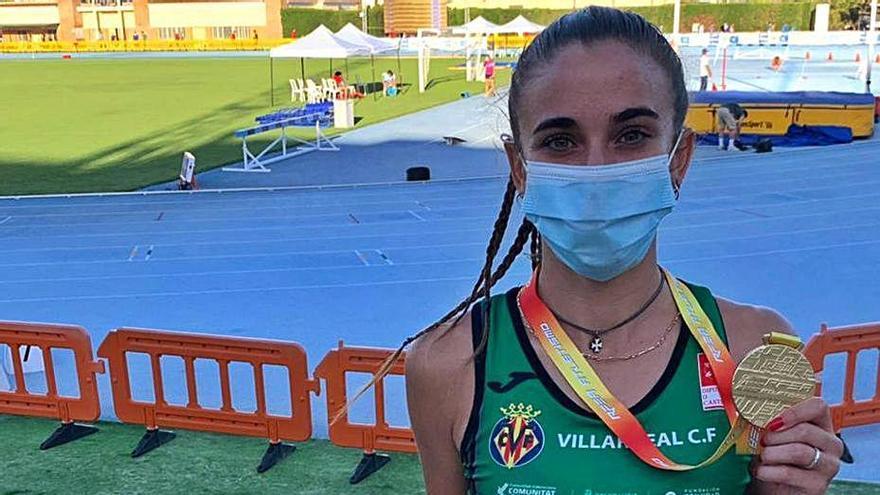 Daniela García se proclama campeona de España sub-23en los 800 lisos