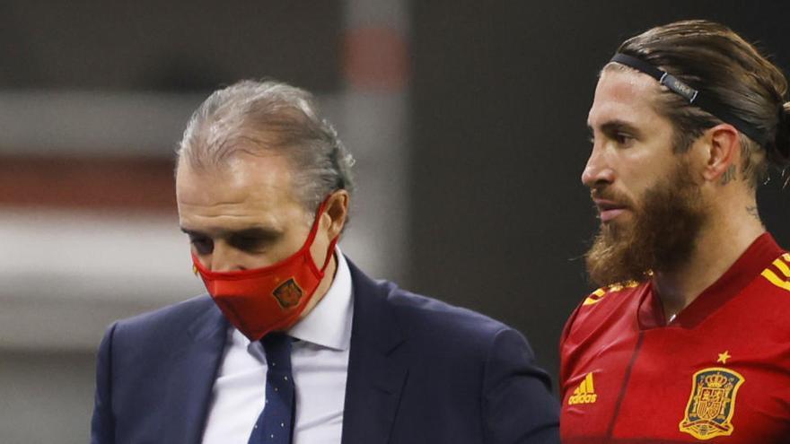 El Madrid confirma la lesión de Ramos en el bíceps femoral