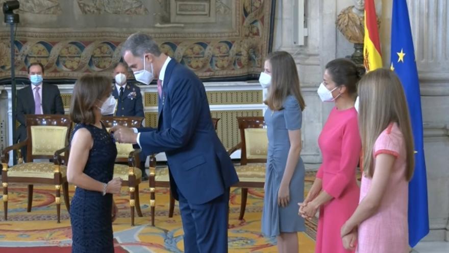 La catedrática de la UCO Mª del Mar Delgado, distinguida con la Orden del Mérito Civil