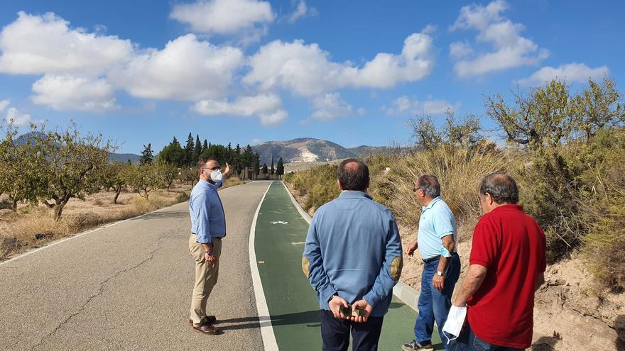 Mejoran la vía verde de Zarcilla de Ramos de Lorca