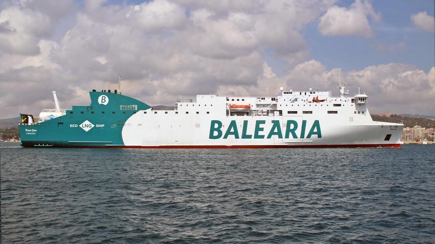 Baleària retoma el día 25 las conexiones interinsulares en alta velocidad