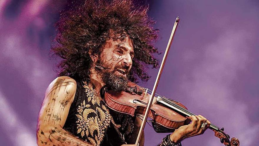 El violinista Ara Malikian actuará el 10 de julio en el Palacio de la Almudaina