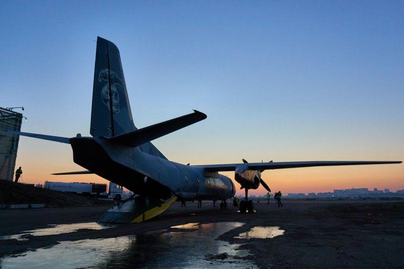 """El avión de """"Los Mercenarios 3"""". // Yaroslav Petrukhno.jpg"""