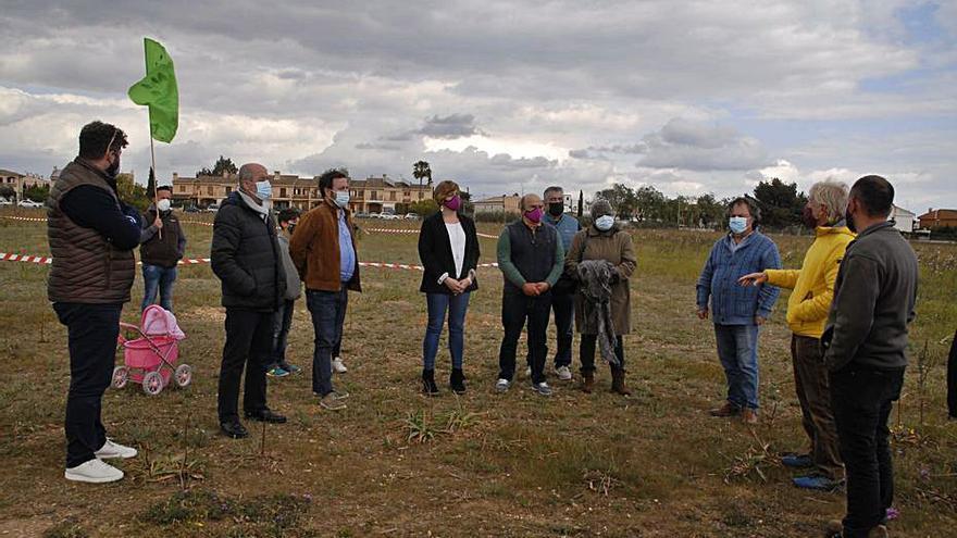 Los políticos de Marratxí visitan Son Bonet