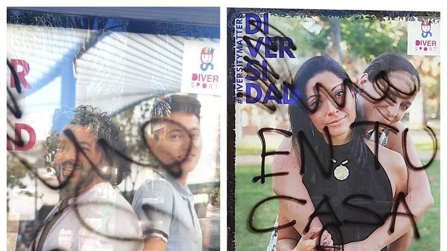 Torremolinos condena las pintadas homófobas aparecidas en el Día del Orgullo LGTBI