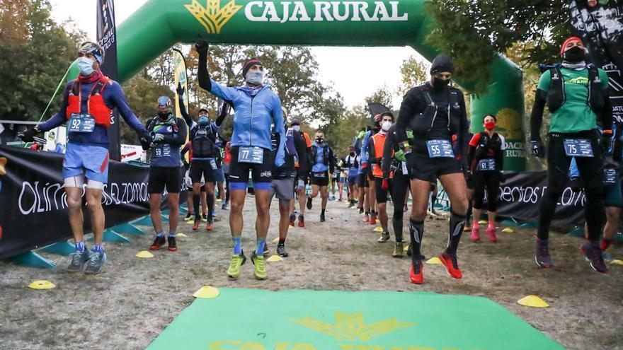 Manuel Merillas y Oihana Kortazar pulverizan el inicio del Ultra Sanabria Caja Rural