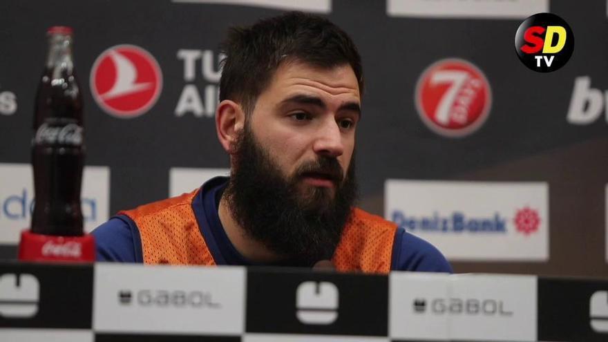 """Dubljevic: """"Tenemos que darlo todo y luchar hasta el final"""""""