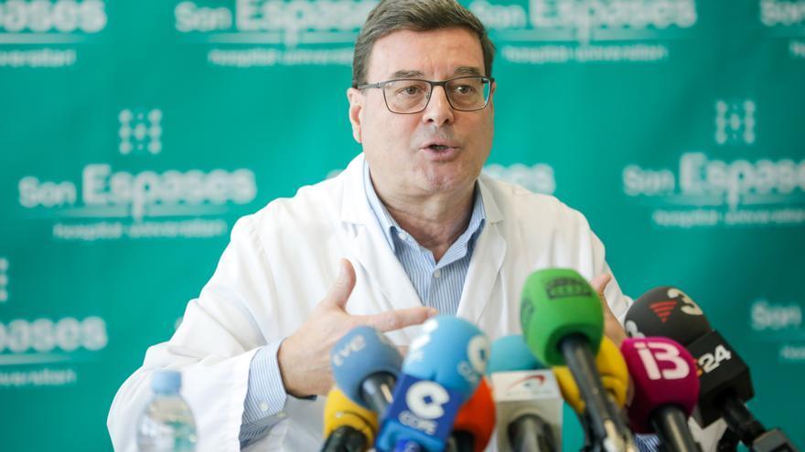 Jordi Reina, partidario de administrar la tercera dosis de la vacuna contra el coronavirus a los mayores de 65 años