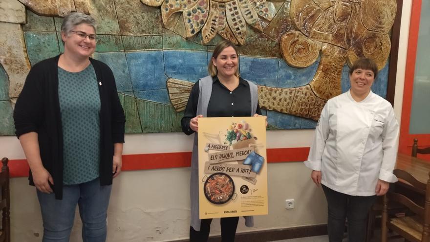 Figueres presenta la campanya 'A Figueres, els dijous mercat i arròs' amb la participació de 50 restaurants