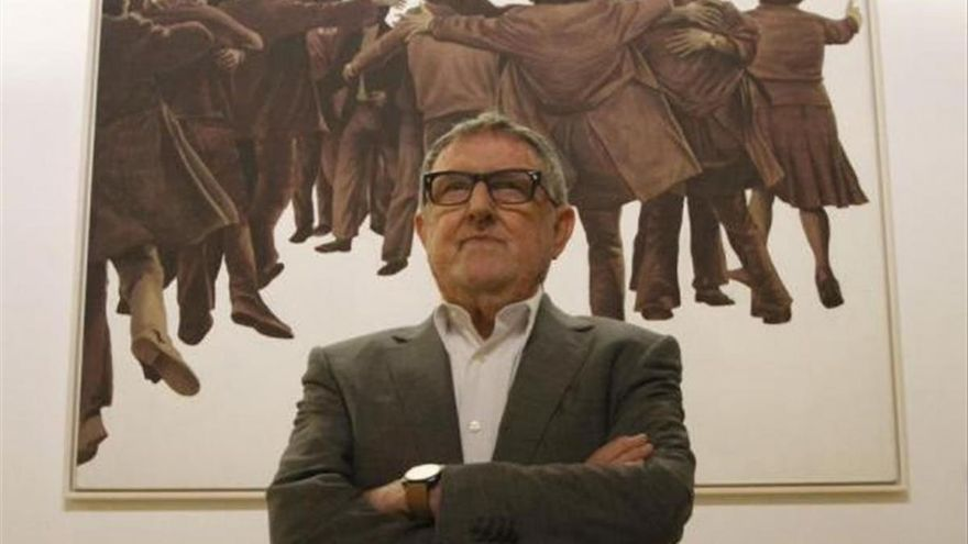 Fallece el artista Juan Genovés, comprometido pintor de 'El abrazo'