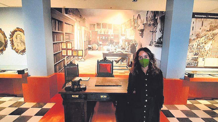 Los recuerdos de Blasco Ibáñez protagonizan  la reforma de la Casa Museo del escritor