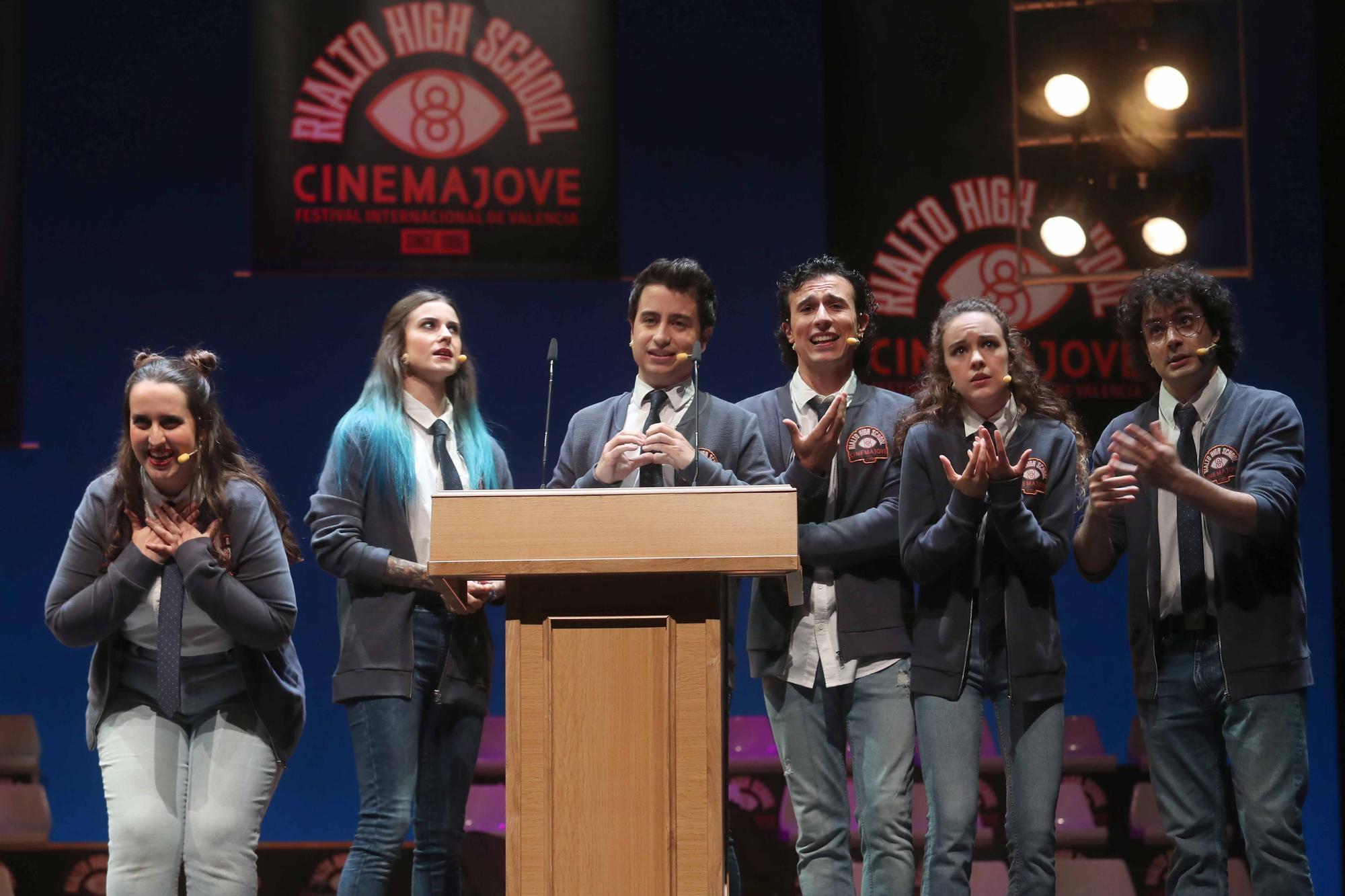 Las imágenes de la clausura del Festival Cinema Jove