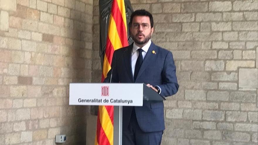 """Aragonés: """"Quien representa a Cataluña es su Gobierno"""""""