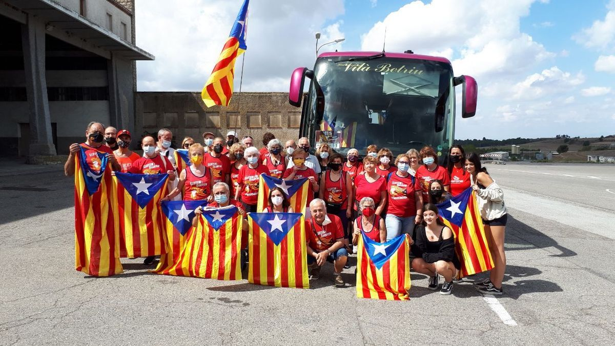 Les millors imatges de la Diada 2021 | La manifestació de l'11-S a Barcelona
