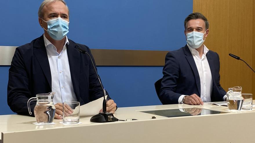 La izquierda en Zaragoza pide reprobar a Azcón por unos expedientes en beneficio de familiares del alcalde