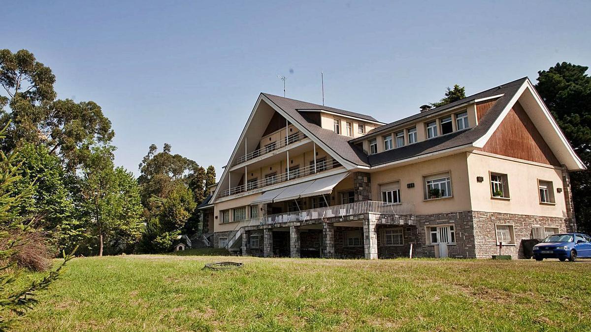 El xalé de La Granda, domiciliu social d'ArcelorMittal n'Asturies.