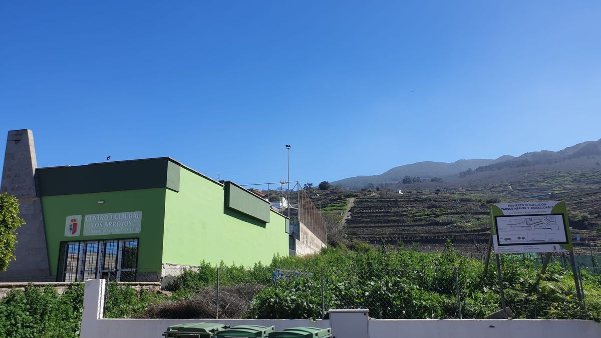 La parcela donde se construirá el nuevo parque de Los Arroyos