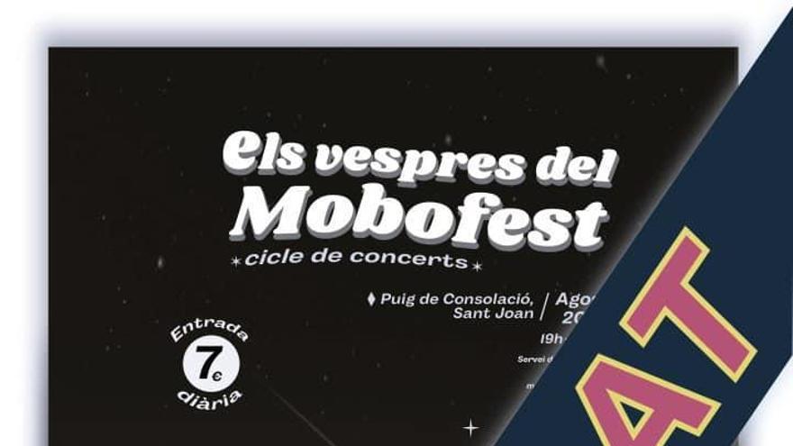 Supenden el ciclo de conciertos del Mobofest
