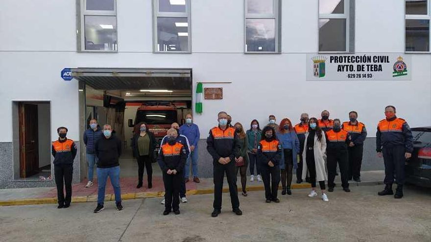 El Ayuntamiento de Teba inaugura una nueva sede para Protección Civil