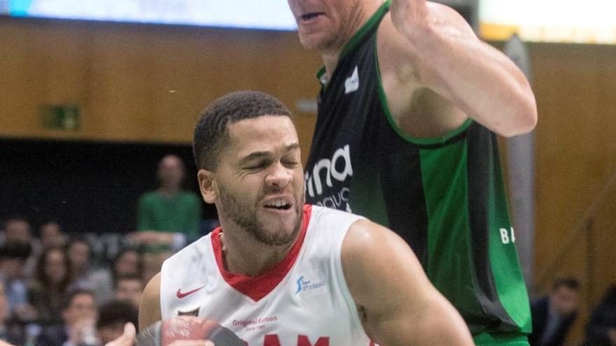 El exjugador del UCAM Lecomte se lesiona sin debutar con el Gran Canaria