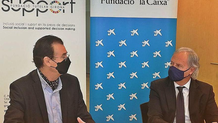 Support-Girona rep16.000 euros per al projecte Espai Obert