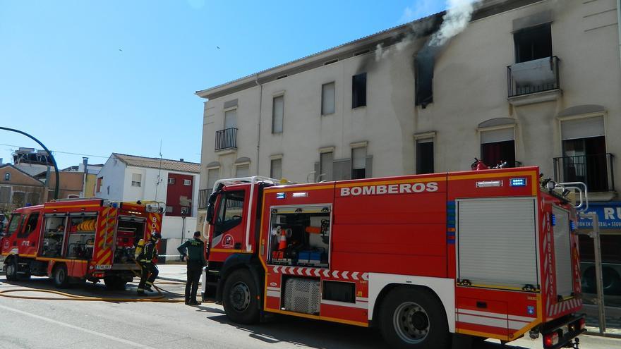 CSIF reclama que se construya el parque de bomberos de Rute