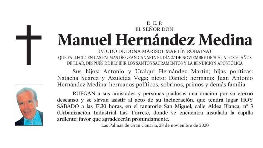 Manuel Hernández Medina